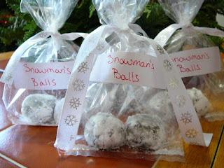 snowman's balls