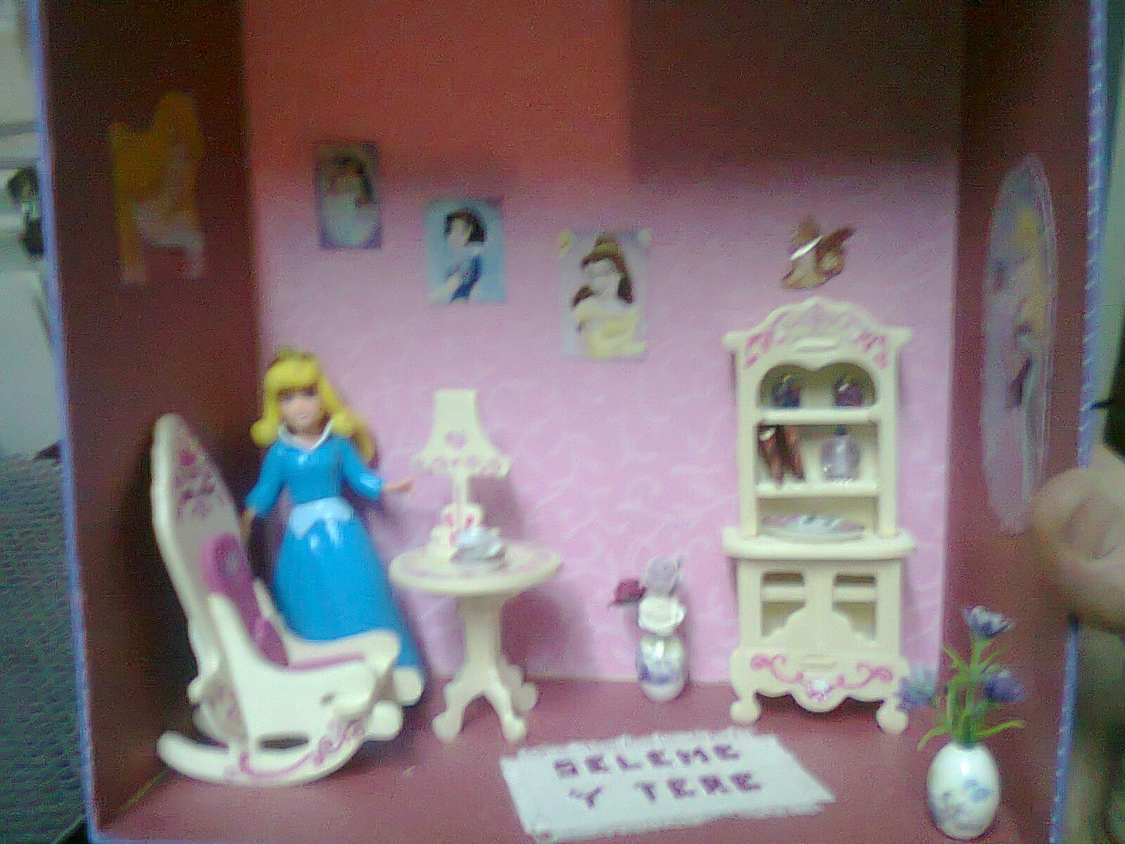 Las miniaturas de esperanza la casita de mis princesas - Casitas de princesas ...