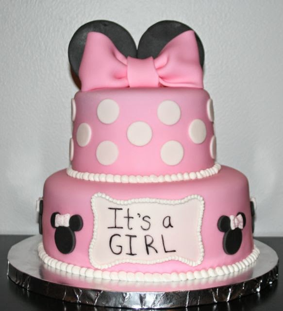 Minnie Mouse Baby Shower Cake Images : Jacqueline s Sweet Shop: Minnie Mouse Baby Shower Cake
