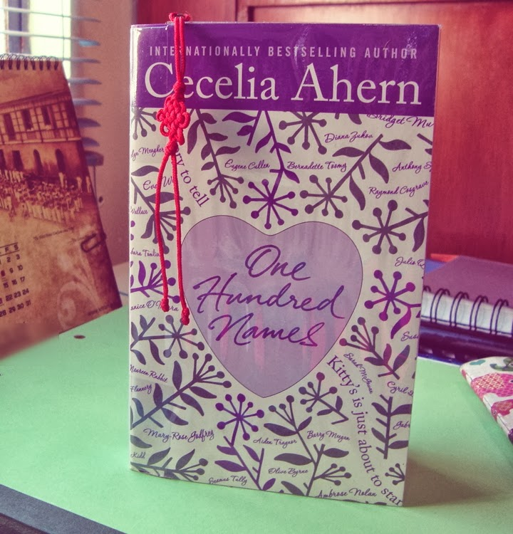 Reviewed One Hundred Names By Cecelia Ahern Diane Wants border=
