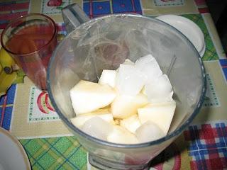 عصير البطيخ الأصفر بارد ومنعش بالصور