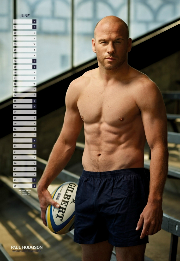 'Rugby's Finest' - 2013 • Paul Hodgson • Rugby Union Player