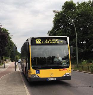 Bus + Straßenverkehr: Beeinträchtigungen des BVG-Busverkehrs durch Baumaßnahmen an der Freybrücke, aus Senat