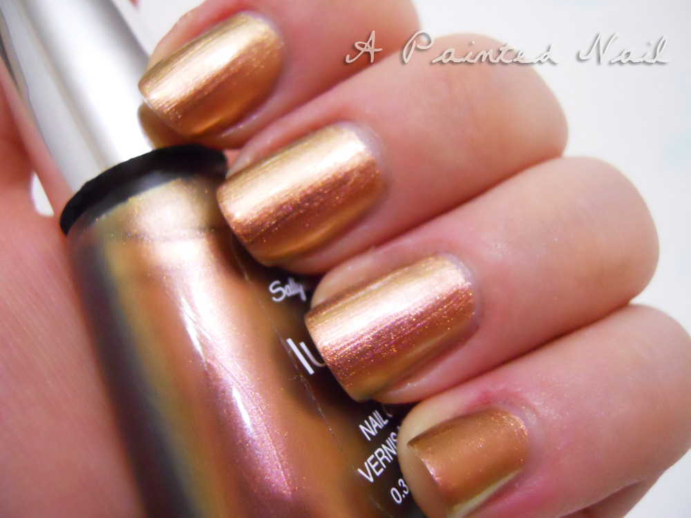 A Painted Nail: Sally Hansen Lustre Shine Firefly