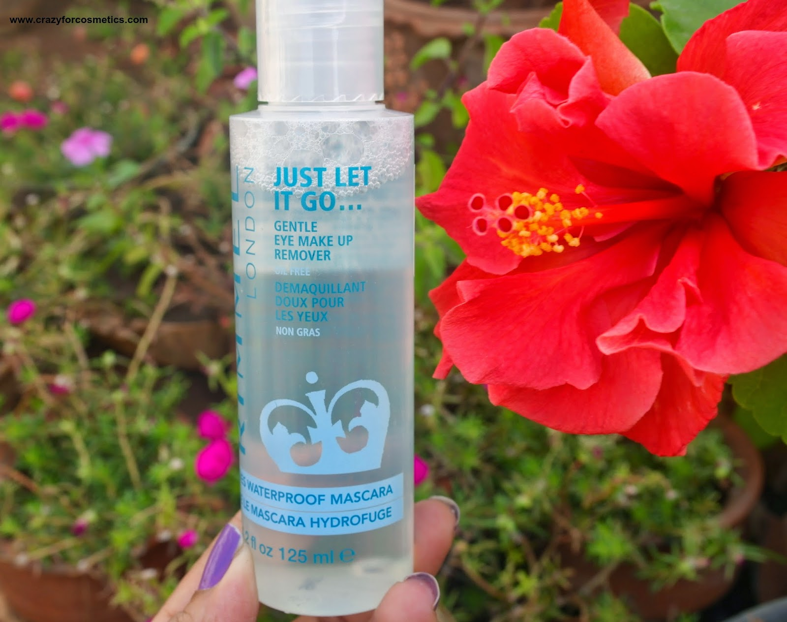 Rimmel London Gentle Eye Makeup Remover Review