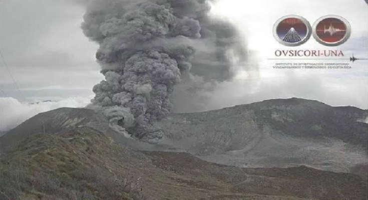 Το ηφαίστειο Turrialba εκρήγνυται 31 φορές μέσα σε δέκα ώρες [Βίντεο]