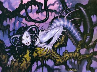 Dorian Cleavenger Ambrosia Dark Gothic Wallpaper