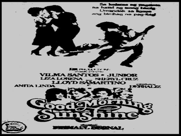 Good Morning Sunshine Vilma Santos : El cine de ayer y la musica siempre antonio morales