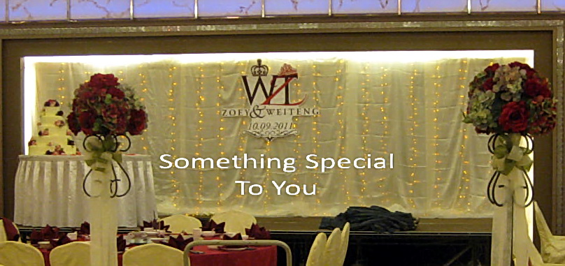 Something special to you malaysia wedding one stop shop wedding backdrop decoration wedding dinner decor junglespirit Gallery