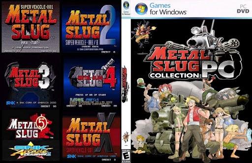 تحميل جميع اجزاء لعبة Metal Slug
