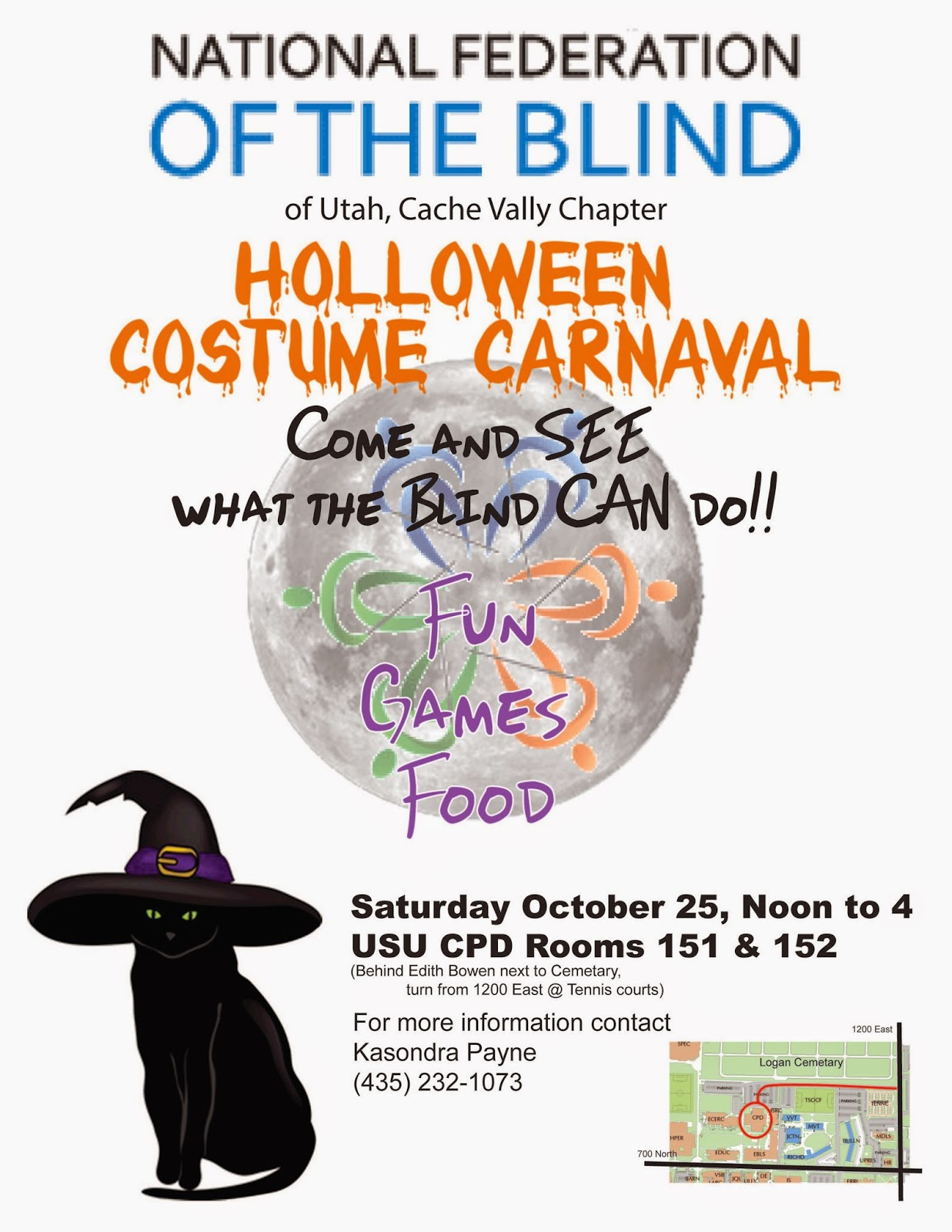 The NFB Halloween Costume Carnival will be Oct. 25 from noon to 4 at the CPD.