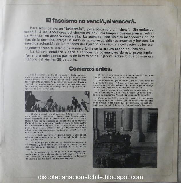 Quilapayún - El Pueblo Unido, Jamas Sera Vencido