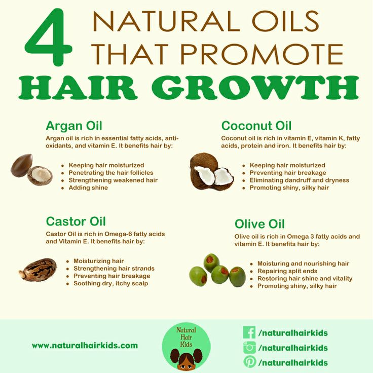 4 Products Which Promote Growth In Natural Hair Curly