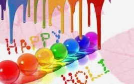 Happy Holi Facebook Wallpapers