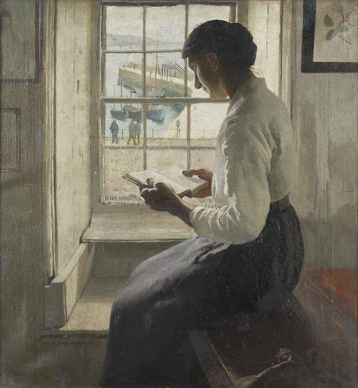 Harold Harvey. The New Book, 1920