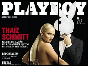 Thaiz Schmitt Nua Na Playboy
