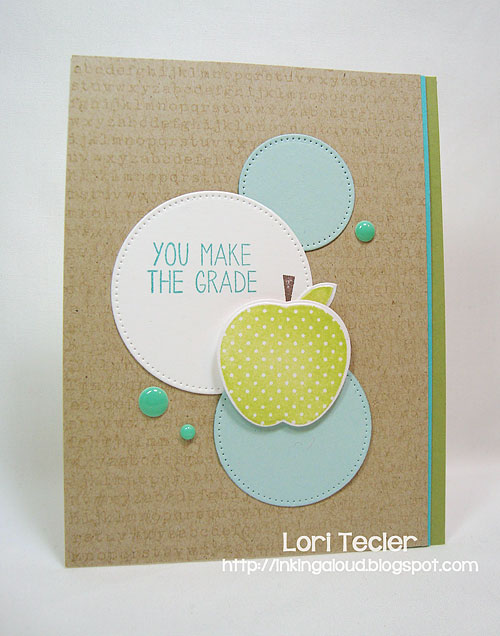 You Make the Grade-designed by Lori Tecler-Inking Aloud