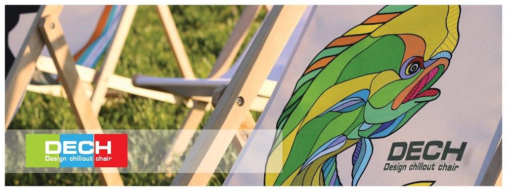 Designové dřevěné lehátka DECH