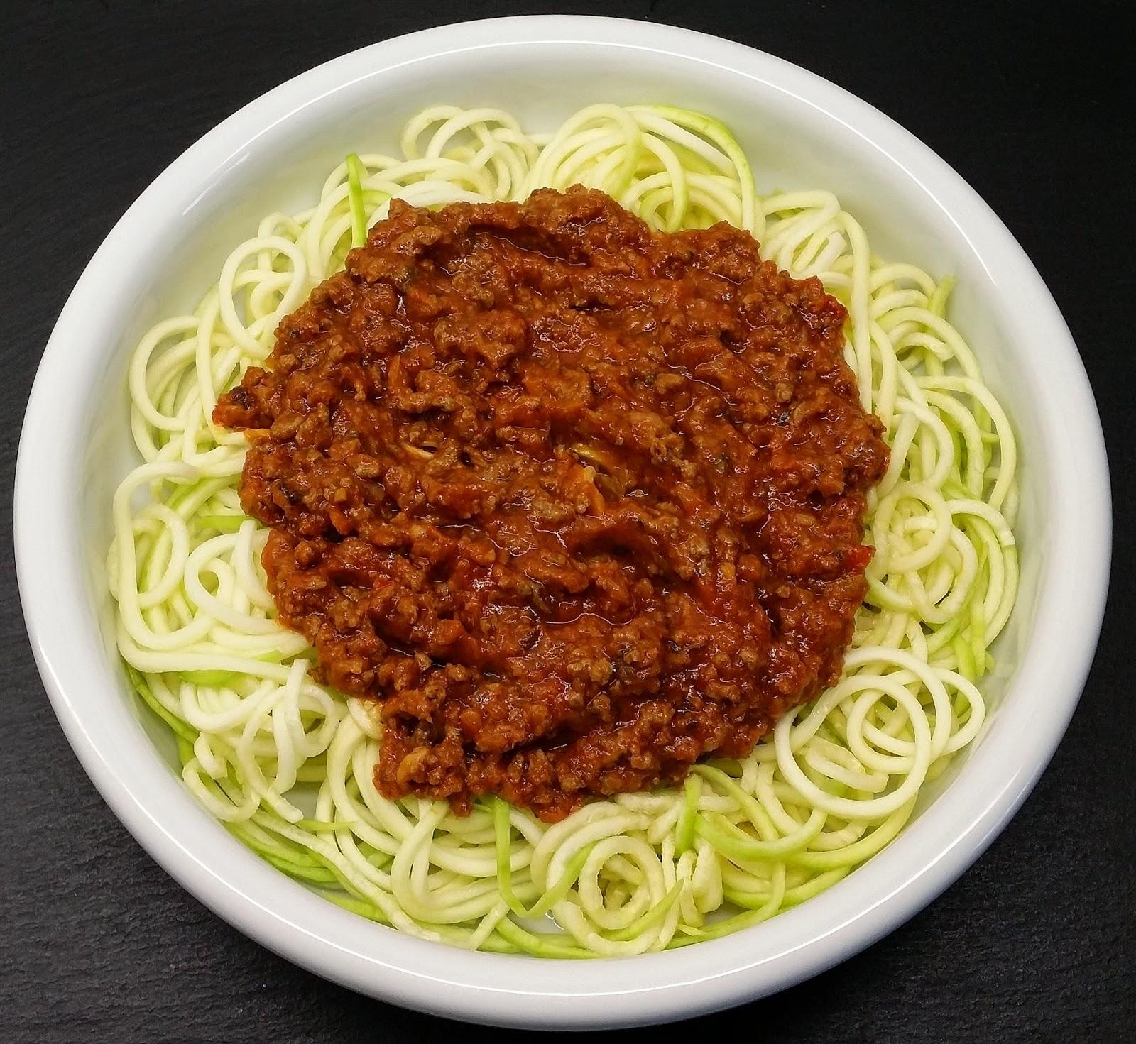 Klidfasterdk Squash Pasta Med Bolognese Og Hytteost