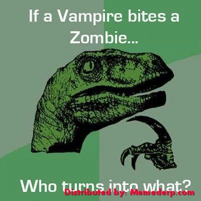 meme Vampire vs Zombies