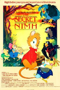 Film Poster Secret of NIMH 1982 animatedfilmreviews.blogspot.com