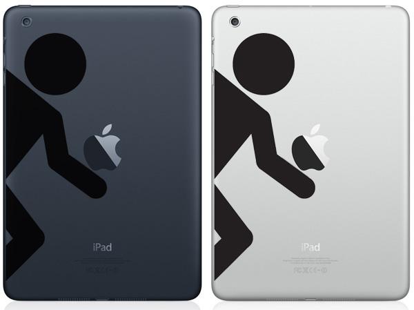 Portal Figure iPad Mini Decals