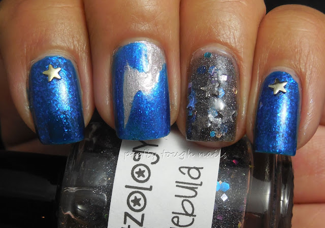 #31DC2013 Metallic Nails With Orly Stone Cold