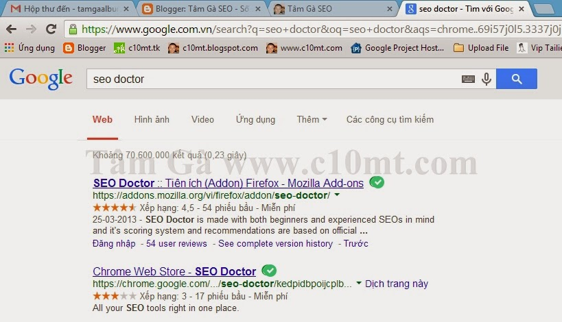 Hướng dẫn sử dụng công cụ SEO Doctor