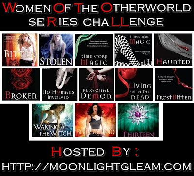 Women of the Otherworld Challenge hosted by Moonlight Gleam's