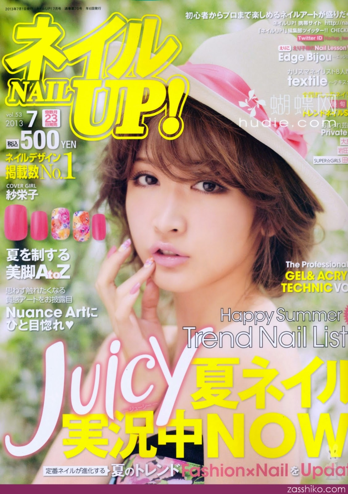 Scans | Nail Up! July 2013