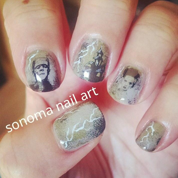 Sonoma Nail Art Fire Bad