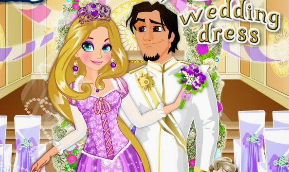 Rapunzel Düğün Hazırlığı