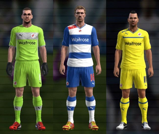 PES 2012 Reading 12 13 Kit Set by mario88