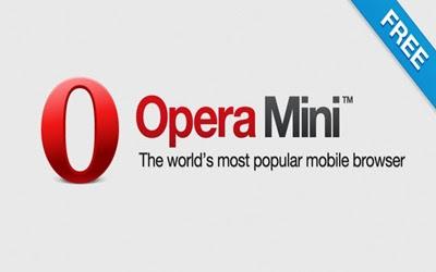 Opera Mini foi um dos primeiros a dispor de uma versão para smartphones e tablets
