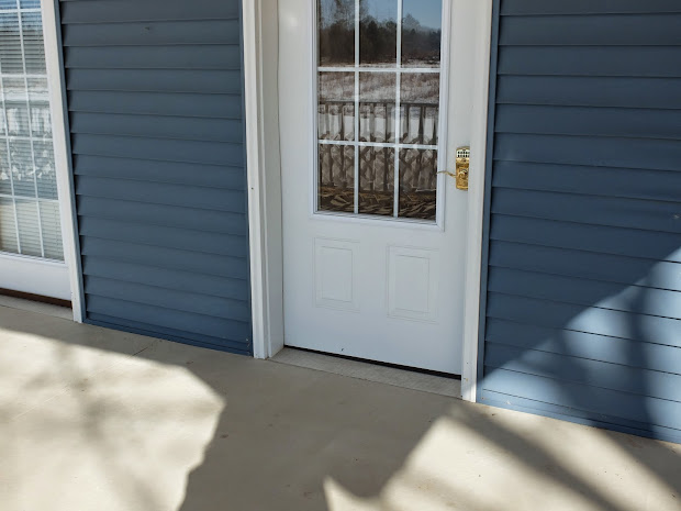 Handicap Accessible Door Threshold