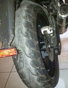 Tips Modifikasi Ban Lebar / Besar Untuk Sepeda Motor