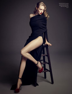 Amanda Seyfried Elle Korea Magazine Photoshoot January 2014 HQ Pictures