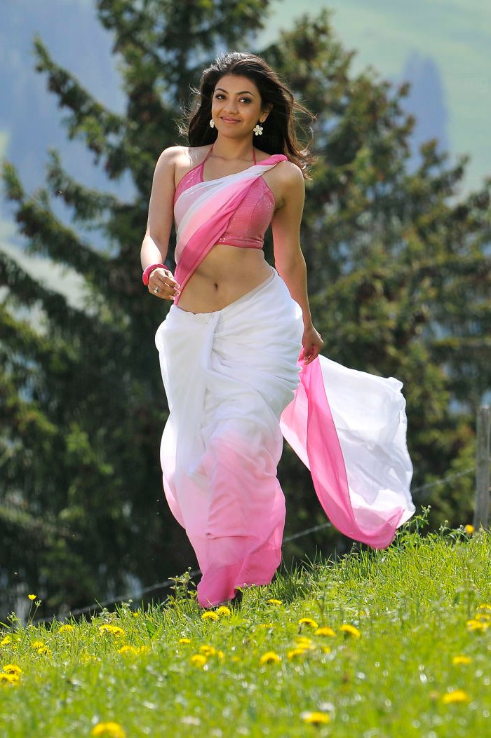 ACTRESS KAJAL AGARWAL HOT SAREE PICTURES IN VEERA MOVIEMP3 ...