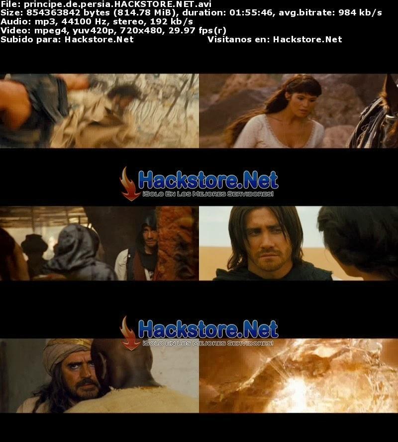 Captura El Príncipe de Persia (2010) DVDRip Latino