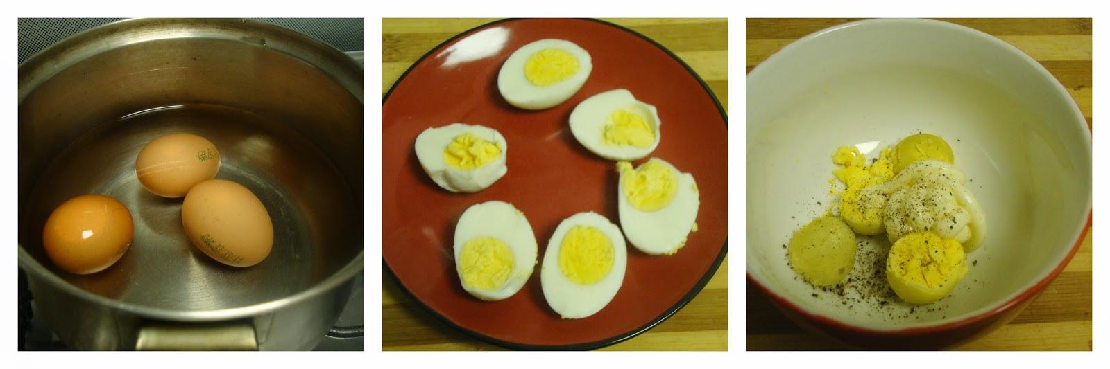 ... Deviled Eggs / Spooky Deviled Eggs / Deviled Eggs - Halloween Special