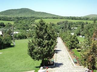 Celic Dere Monastery (Dobrogea, Romania) - Forests Niculitel Panorama