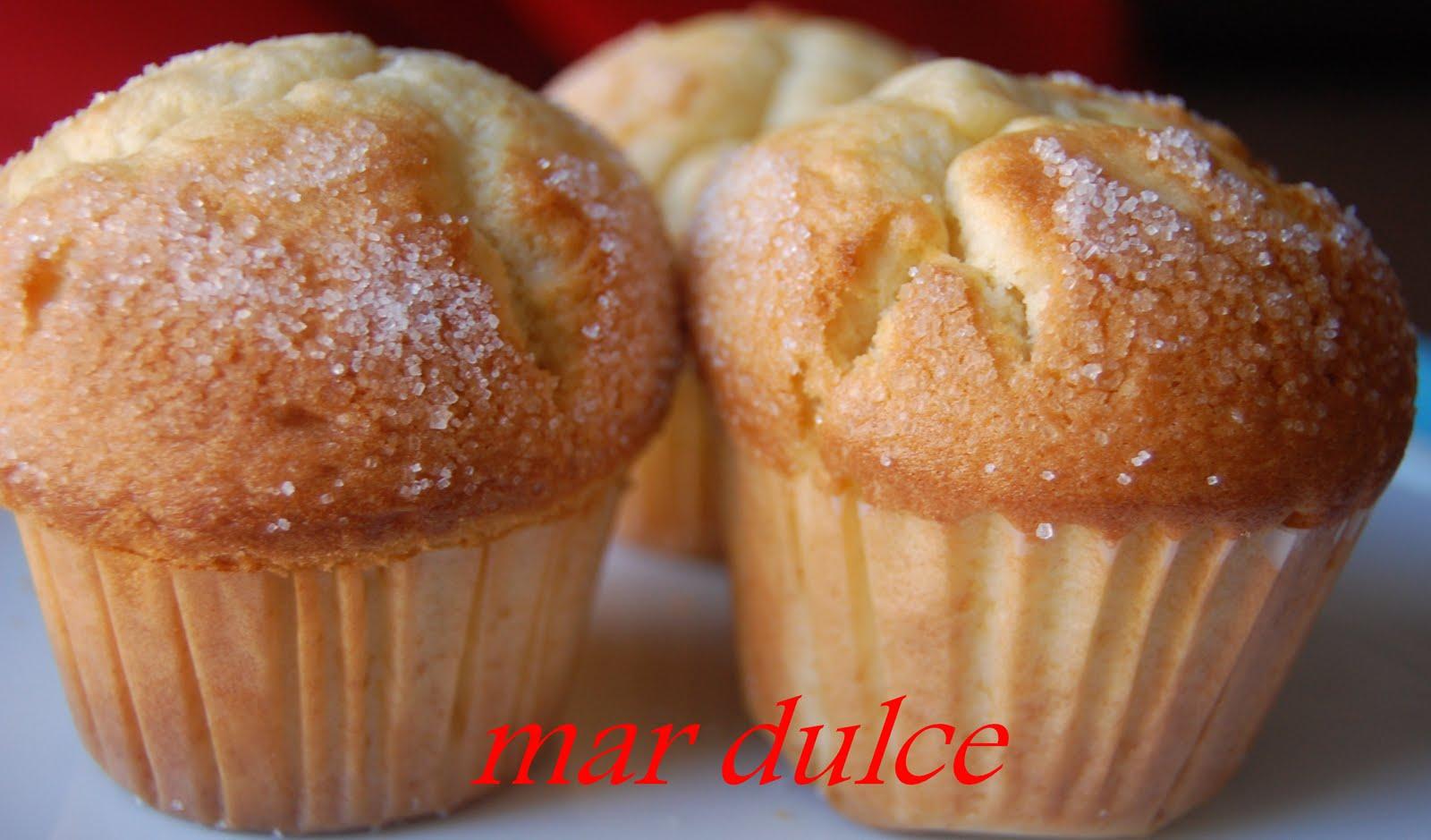 Mar dulce magdalenas con copete - Madalenas o magdalenas ...