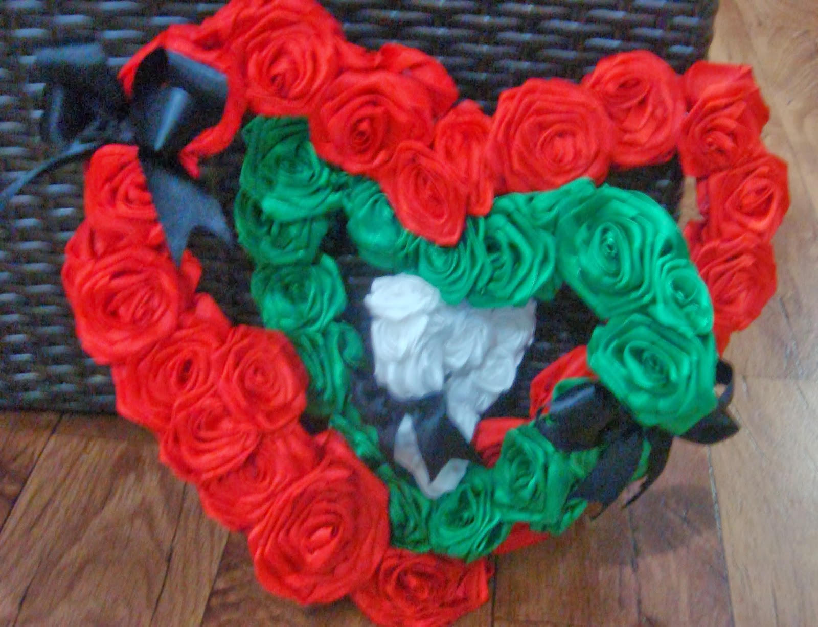 Peace Rose Flower: UAE National Day Hand Crafts &Cards