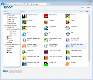 Spoon Virtual Application Studio