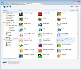 Spoon Virtual Application Studio