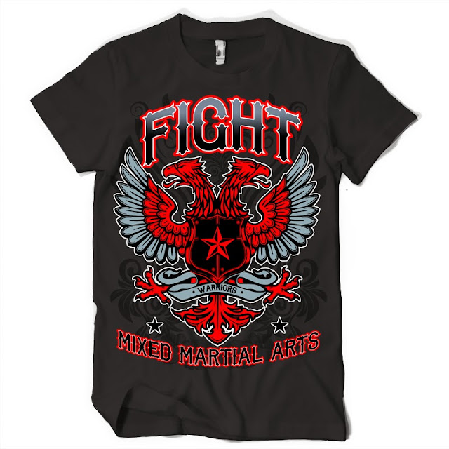 mma tshirt design