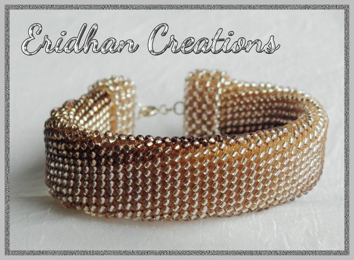Eridhan Creations Beading Tutorials Beaded Bracelet