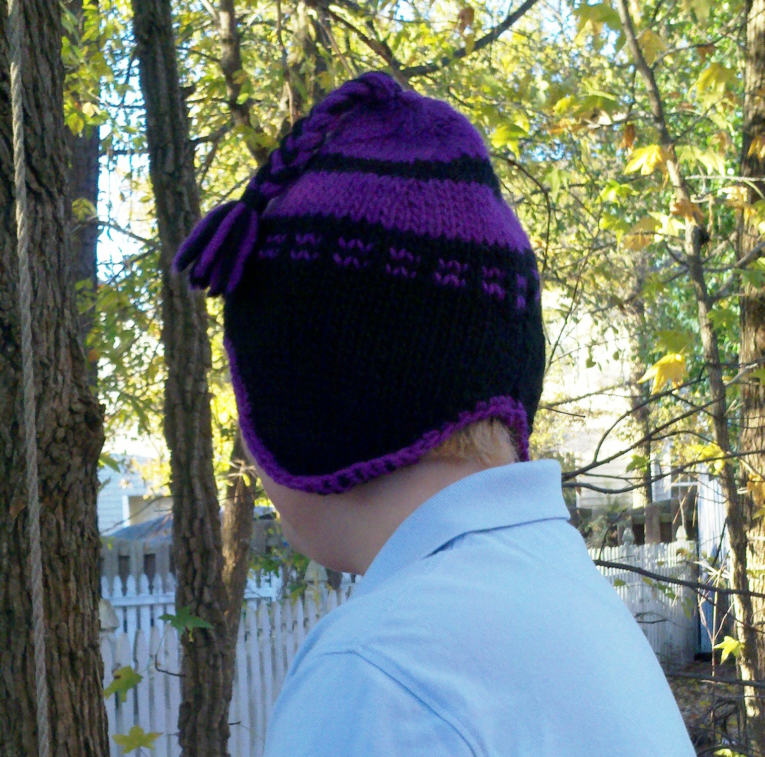 Earflap Hat Knitting Pattern Bulky Yarn : Free Pattern: Bulky Ear Flap Hat