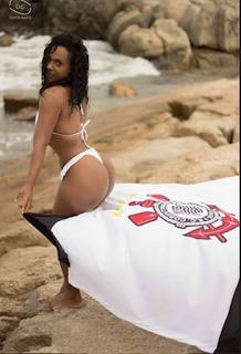 Belas da Torcida 2015 - Corinthians - Candidata - Kely Rosângela