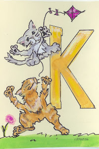 """K"" is for Kittens and a Kite"